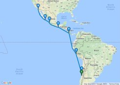 Chile To San Diego Cruise 15nt Dep 24 Mar 2019