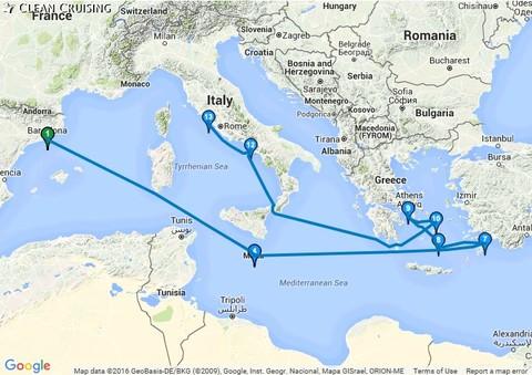 Eastern Mediterranean Cruise 12 Nt Dep 30 May 2017  Celebrity Equinox