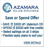 Azamara Club Cruises Sale