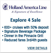 Holland America Cruise Line Sale