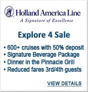 Holland America Cruise Line Sale