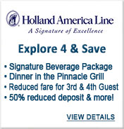 Holland America Cruise Sale