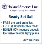 Holland America Cruises Sale