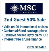 MSC Cruises Sale