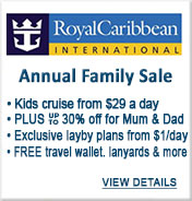 Royal Caribbean Cruises Sale
