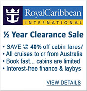 Royal Caribbean Cruises Sale
