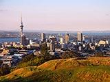 Auckland port.