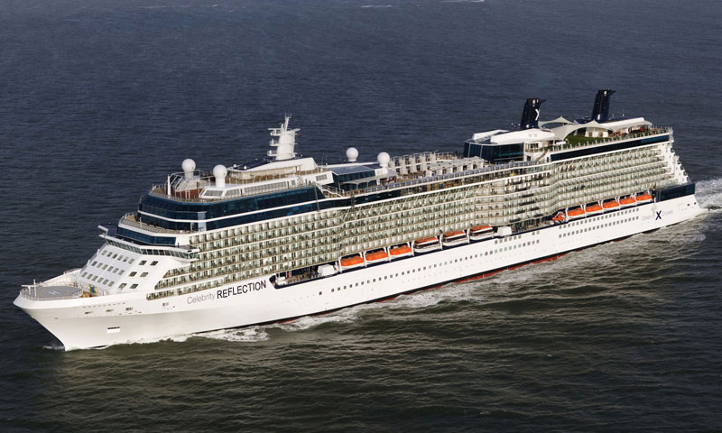 Celebrity Reflection Ship Tracker / Tracking Map Live ...