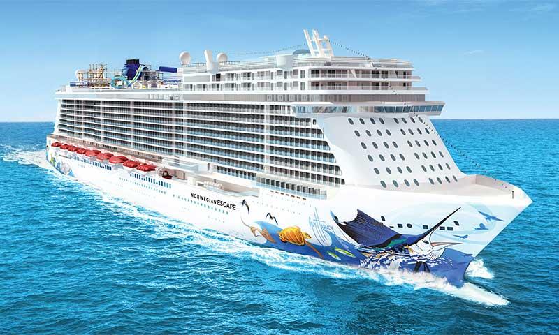 Norwegian Escape Ship Tracker Satellite Location View Live Webcam - Cruise ship web cameras