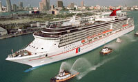 Carnival Spirit location & webcam