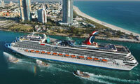 Carnival Valor location & webcam
