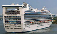 Caribbean Princess location & webcam