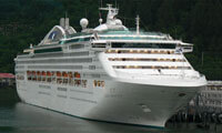 Dawn Princess location & webcam