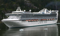 Golden Princess location & webcam