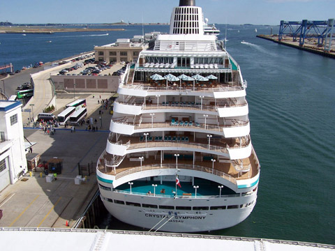 Crystal Symphony Cruises Day Twin - Symphony cruise ship south africa