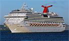 Carnival Splendor Ship Tracker Satellite Location View
