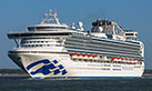 Sapphire Princess cruises - click to enlarge