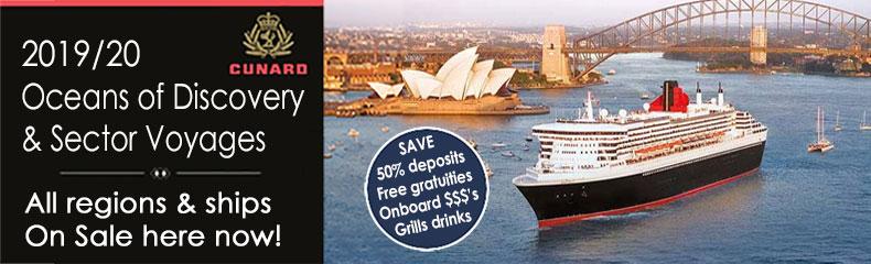 Cunard Colossal Cruise Sale