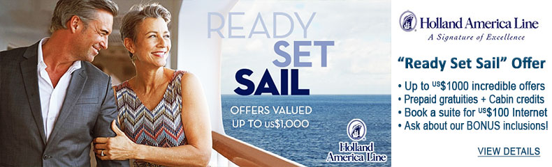 Holland America Sale