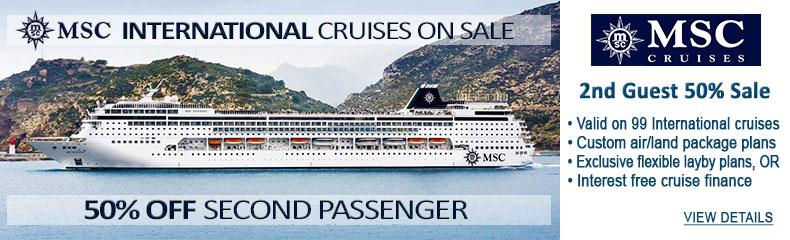 MSC Cruises Sale