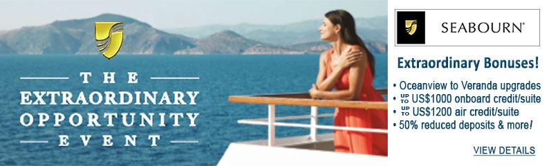 Seabourn Cruises Sale
