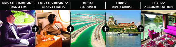 Fly Business Class & Cruise Europe in Luxury