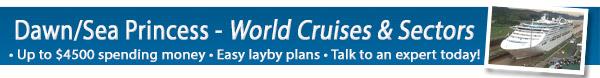 Princess World Cruise Sale