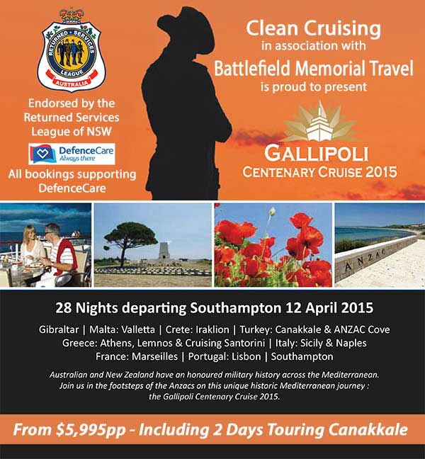 Blackwatch Gallipoli Cruise 2015