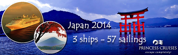 Experience Japan with Princess Cruises
