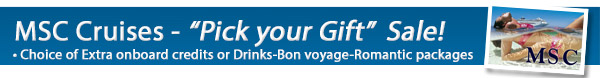MSC Cruises - Pick Your Gift Sale