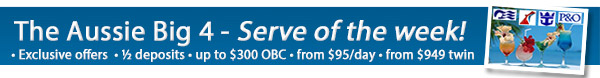 Local Cruise Sale - 50% Deposits + OBC