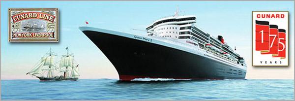 Cunard's 175th Anniversary