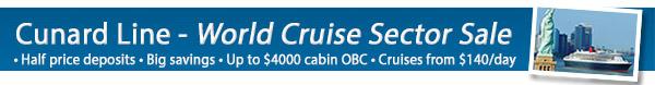 Cunard's Grand Sale