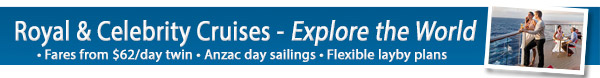 International Celebrity Cruises and Royal Caribbean Sales