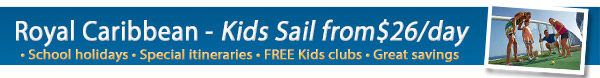 Royal Caribbean - Kids Cruise for $26/day