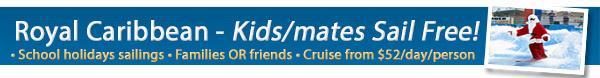 Royal Caribbean Kids/Mates Sail Free