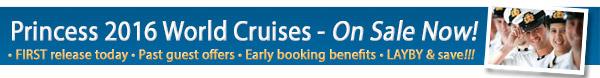 Princess 2016 World Cruise – Now On Sale