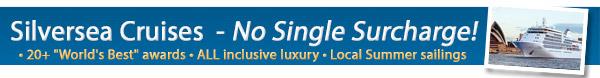 Silversea - No single surcharge