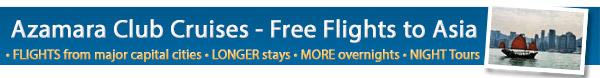 Azamara Club Cruises - Free Flights Sale
