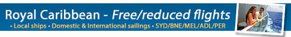 Royal Caribbean's Free Flight Sale!