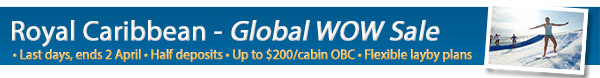 Royal's Global WOW Sale – On sale until 2nd April!