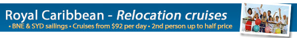 Royal Caribbean Cruise Lines Relocation Cruises