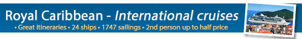Royal Caribbean Cruise Lines International Sailings!