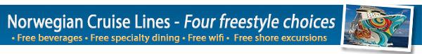 Norwegian Cruise Lines Freestyle Choice