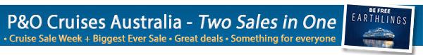 P&O Cruises Cruise Sale Week