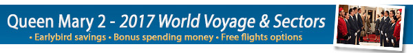 Queen Mary 2017 World Voyage