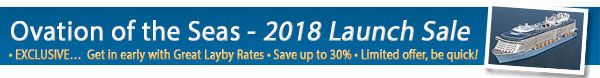 Ovation of the Seas 2018 on Sale Now!