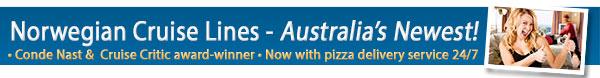 Cruise on Australia's newest cruise line - Norwegian Cruise Lines!