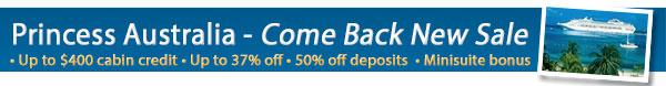 Princess Cruises - Bonus OBC + 50% Off Deposits!