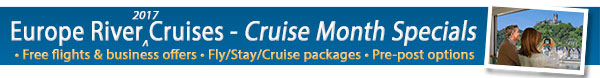 Experience River Cruising in 2016 - 2017!